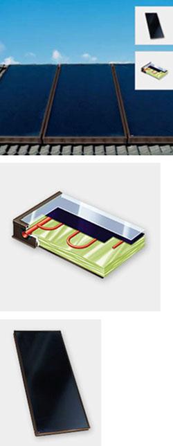 Eine Größer Dimensionierte Solaranlage, Die Warmwasser Für Die Heizung Und  Für Das Brauchwasser Liefert Mit Temperaturen Von Mind.
