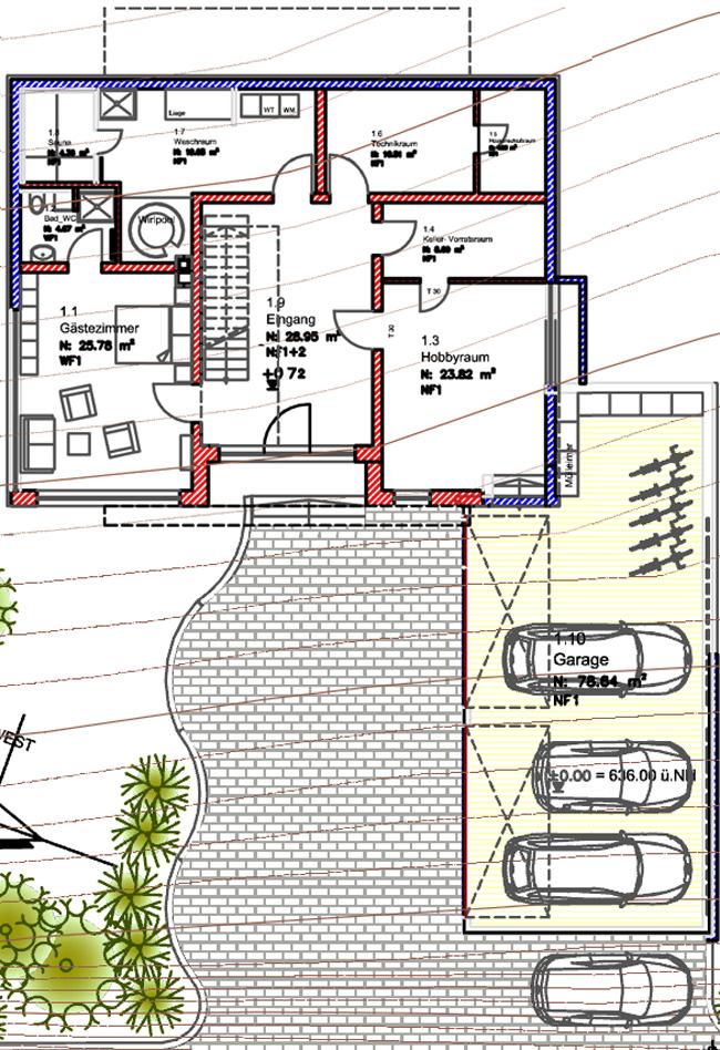 Ko architektenhaus villa 14 riposo grundriss for Architektenhaus grundriss