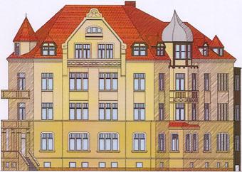 Eine Top Immobilie Villa freistehend mit 8 Eigentumswohnungen